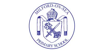 Olivia Inspires Milford On Sea Primary School Logo