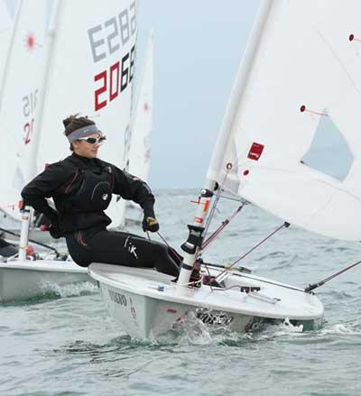 Olivia Inspires Sailing