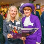 Hon. Mrs Mary Montagu Scott With Sarah Le May, The High Sheriff Of Hampshire